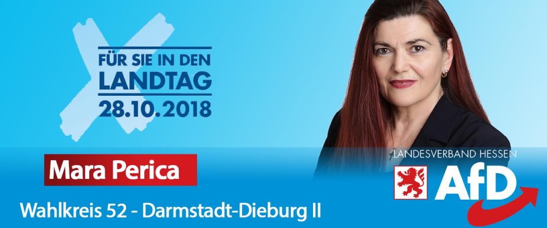 Mara Perica - AfD Direktkandidatin für Darmstadt-Dieburg II