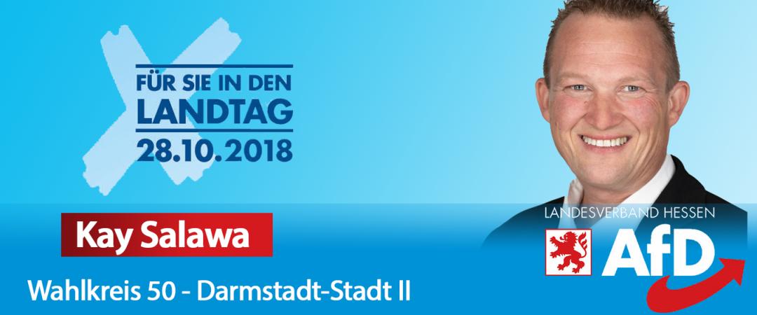 Kay Salawa - AfD Direktkandidat für Darmstadt II