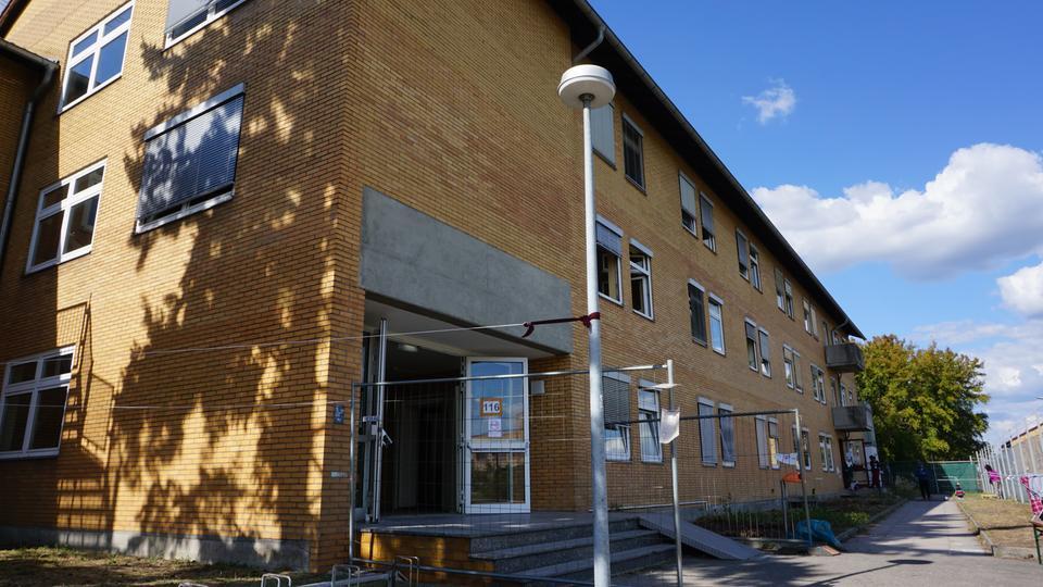 Erstaufnahmelager Starkenburg-Kaserne in Darmstadt